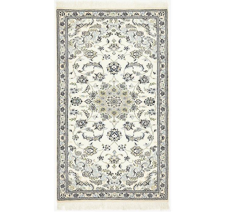 3' 3 x 5' 9 Nain Persian Rug