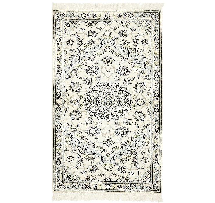 3' 2 x 5' 3 Nain Persian Rug