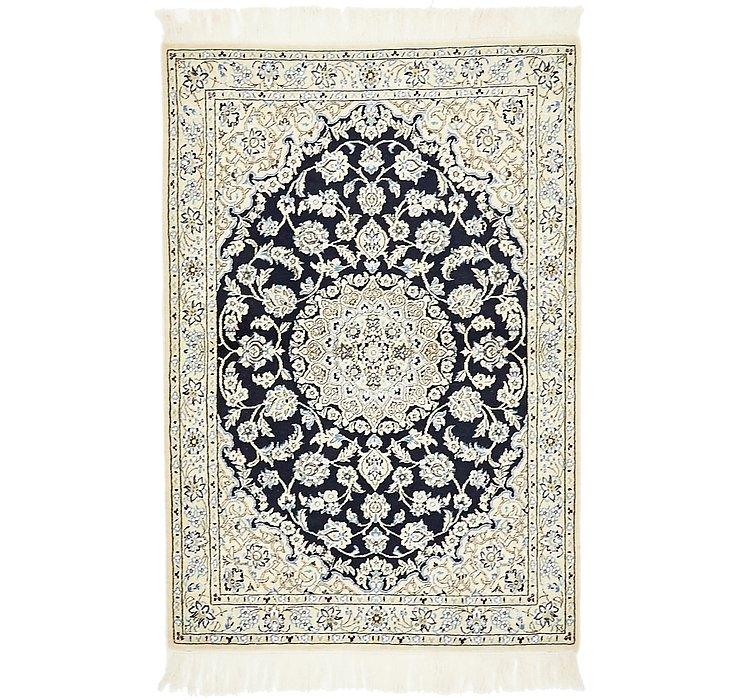 3' 4 x 5' Nain Persian Rug
