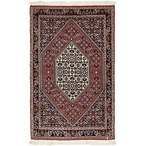2' 4 x 3' 9 Bidjar Persian Rug