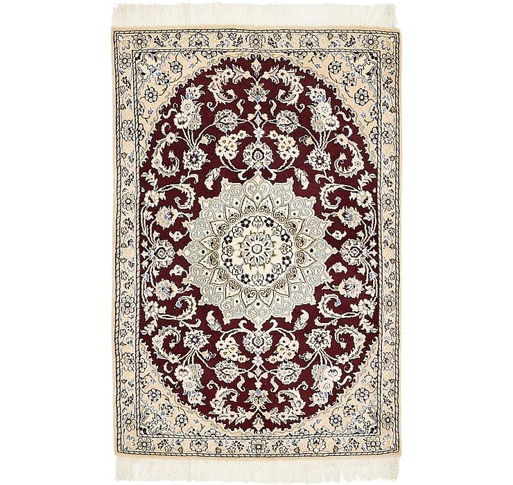 HandKnotted 2' 10 x 4' 4 Nain Persian Rug