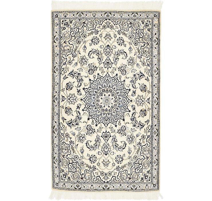 90cm x 140cm Nain Persian Rug