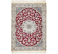 Link to 2' 3 x 4' 9 Nain Persian Rug