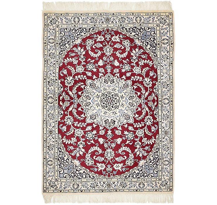 HandKnotted 2' 3 x 4' 9 Nain Persian Rug