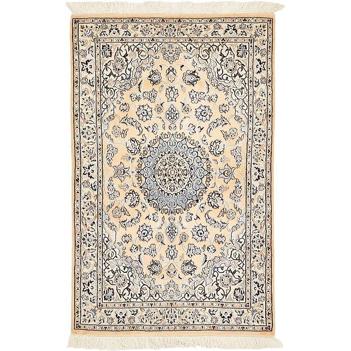 3' 1 x 4' 11 Nain Persian Rug