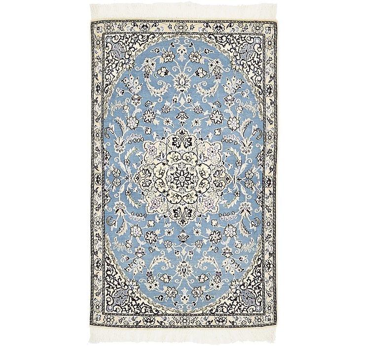 HandKnotted 2' 10 x 4' 6 Nain Persian Rug