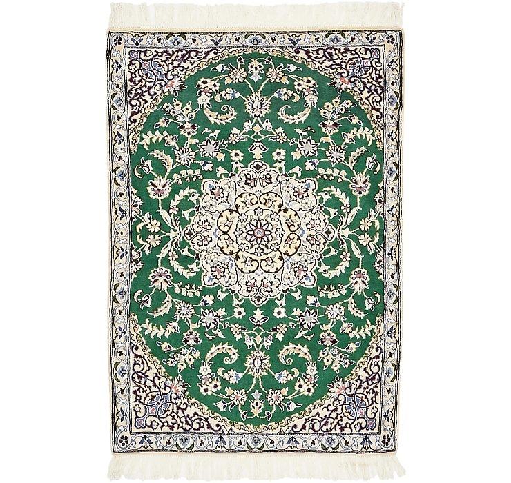 2' 11 x 4' 4 Nain Persian Rug