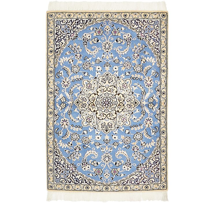 2' 11 x 4' 5 Nain Persian Rug