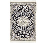 Link to 2' 10 x 4' 6 Nain Persian Rug