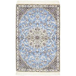 2' 10 x 4' 4 Nain Persian Rug