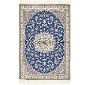 Link to 3' 3 x 4' 11 Nain Persian Rug