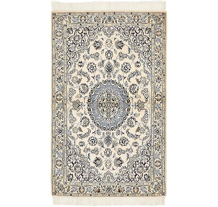 2' 11 x 4' 9 Nain Persian Rug