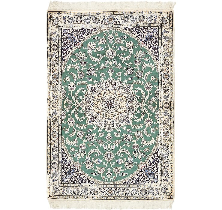 95cm x 152cm Nain Persian Rug