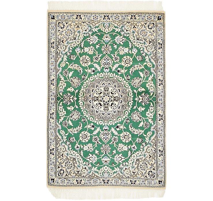 2' 10 x 4' 5 Nain Persian Rug