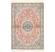 Link to 100cm x 147cm Nain Persian Rug
