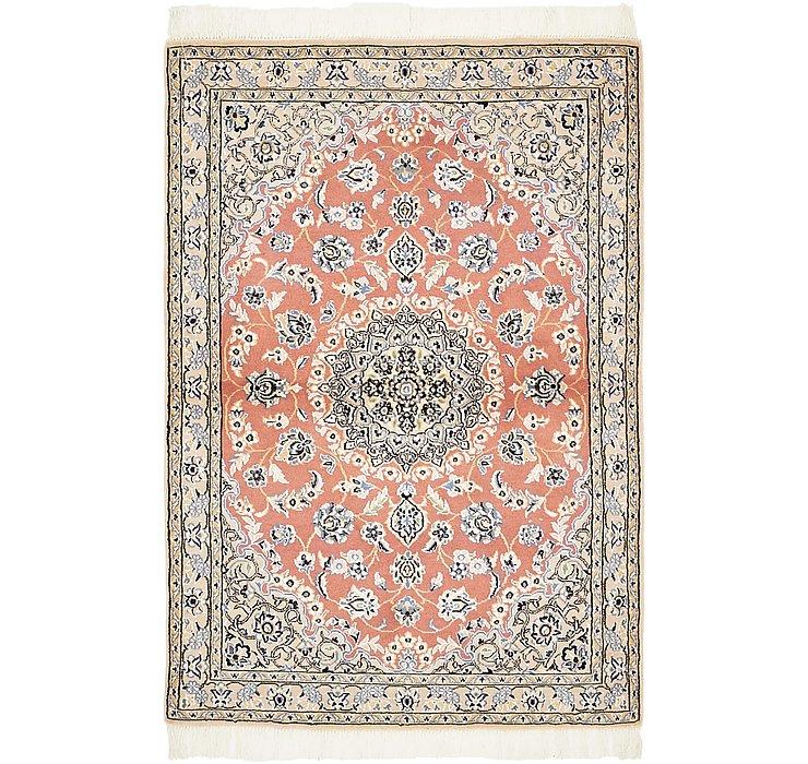 100cm x 147cm Nain Persian Rug