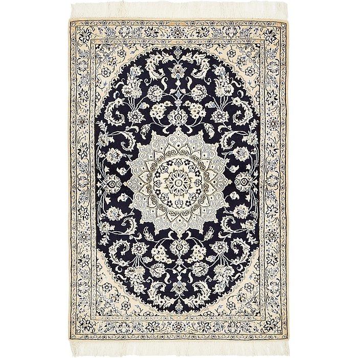 3' 3 x 4' 8 Nain Persian Rug