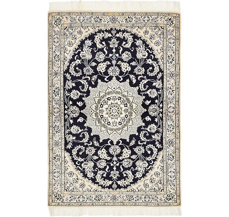 100cm x 142cm Nain Persian Rug