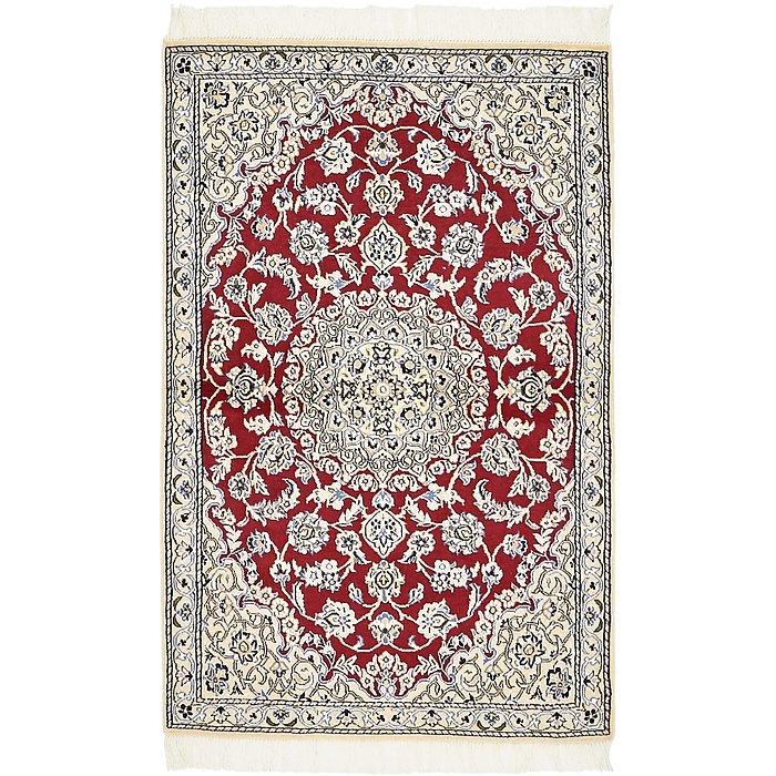 2' 10 x 4' 6 Nain Persian Rug