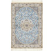 Link to 3' 3 x 4' 9 Nain Persian Rug