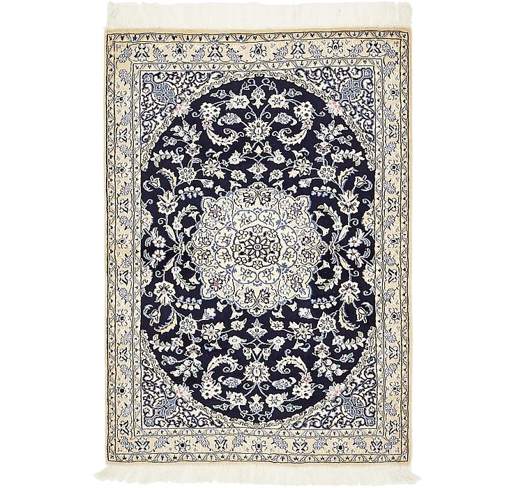 100cm x 145cm Nain Persian Rug