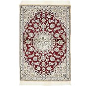 Link to 3' x 4' 6 Nain Persian Rug