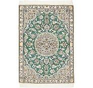 Link to 90cm x 130cm Nain Persian Rug