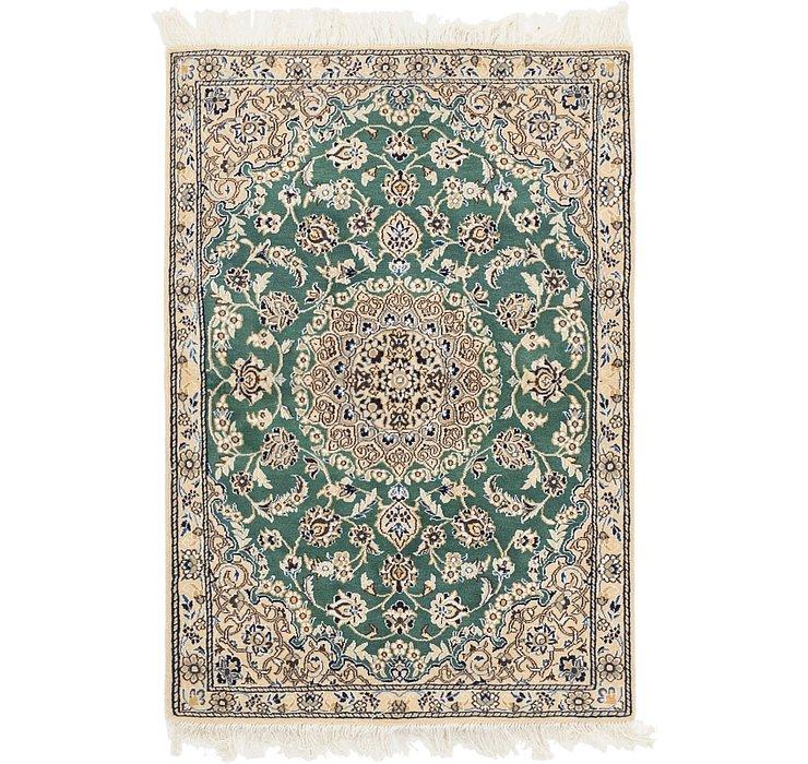 3' x 4' 3 Nain Persian Rug