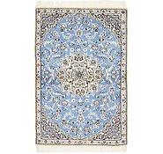 Link to 3' x 4' 6 Nain Persian Rug