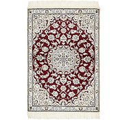 Link to 3' x 4' 4 Nain Persian Rug