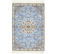 Link to 3' x 4' 5 Nain Persian Rug