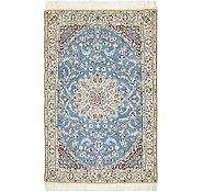 Link to 97cm x 152cm Nain Persian Rug