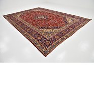 Link to 9' 10 x 13' 10 Kashan Persian Rug
