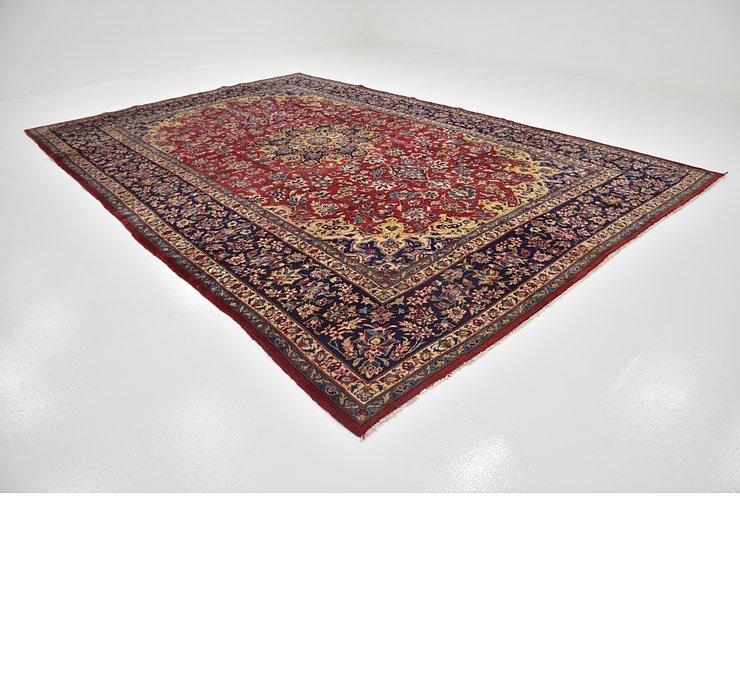 10' x 14' 9 Isfahan Persian Rug