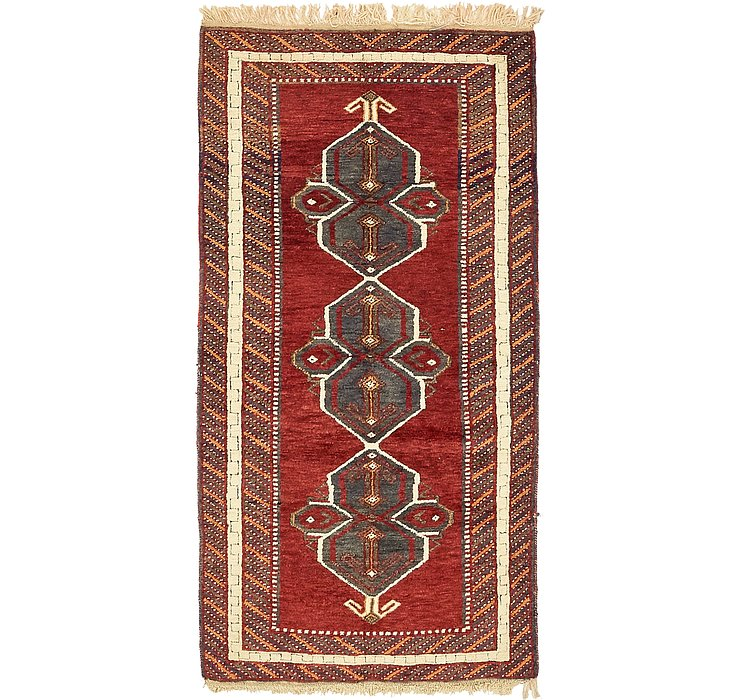 3' 2 x 6' 4 Kars Oriental Rug