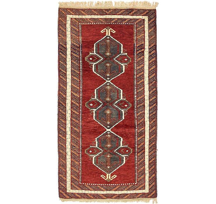 97cm x 193cm Kars Oriental Rug
