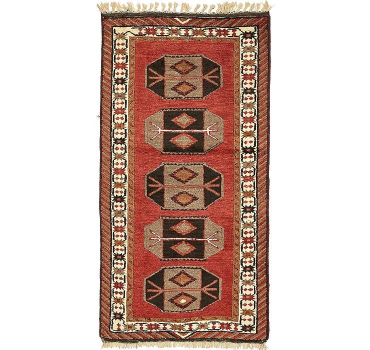 3' 3 x 6' 10 Kars Oriental Rug