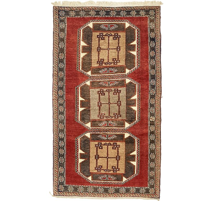 100cm x 203cm Kars Oriental Rug