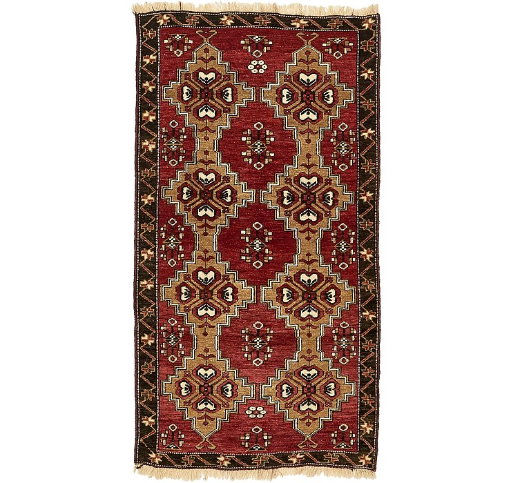 102cm x 193cm Kars Oriental Rug