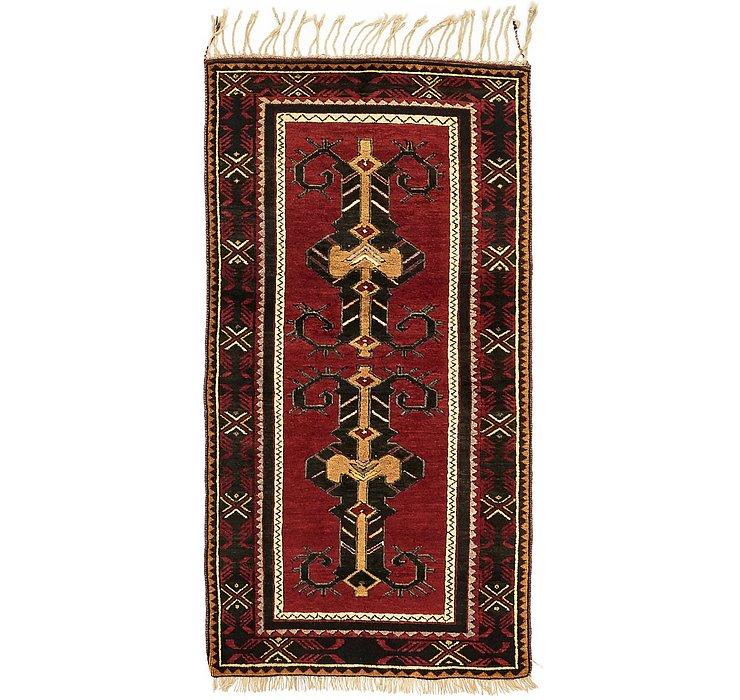 102cm x 203cm Kars Oriental Rug