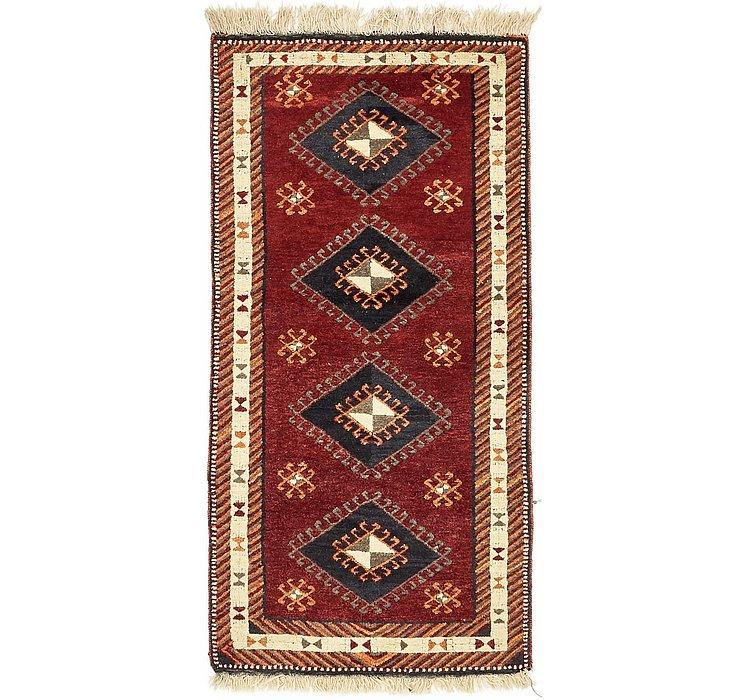 3' 4 x 6' 9 Kars Oriental Rug
