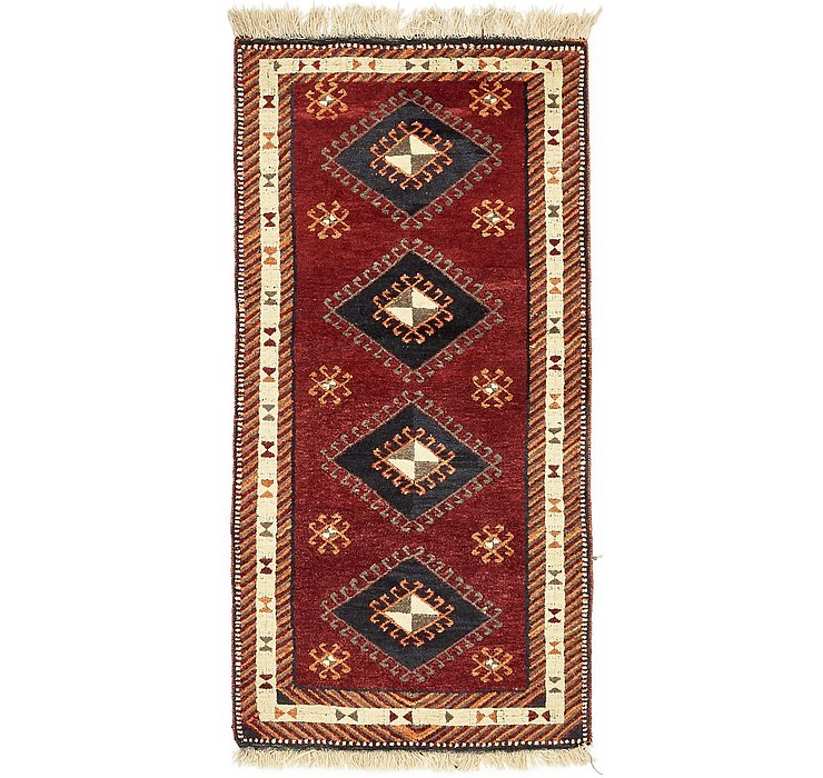 HandKnotted 3' 4 x 6' 9 Kars Oriental Rug
