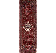 Link to 110cm x 353cm Hossainabad Persian Runner Rug