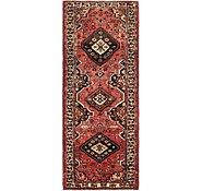 Link to 3' 8 x 9' 7 Hamedan Persian Runner Rug