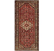 Link to 152cm x 330cm Hossainabad Persian Runner Rug