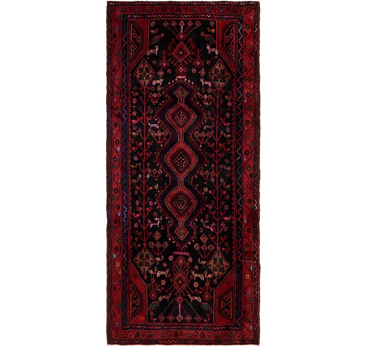 4' x 9' 10 Sirjan Persian Runner Rug
