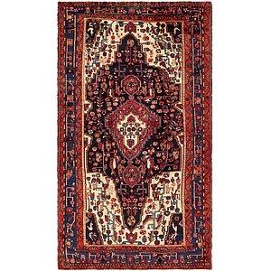 HandKnotted 5' 7 x 10' Nahavand Persian Rug