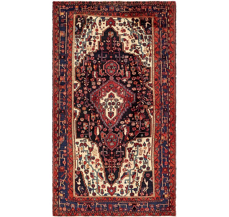 HandKnotted 5' 7 x 10' Nahavand Persian Rug