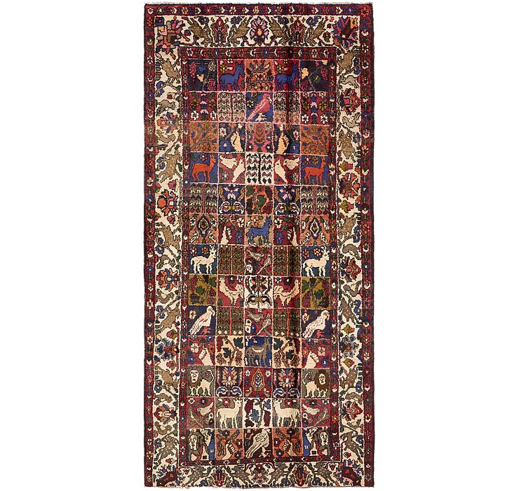 5' 2 x 10' 10 Bakhtiar Persian Rug