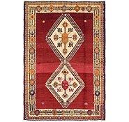 Link to 4' 5 x 6' 5 Ghashghaei Persian Rug